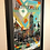 Abstract Wall Art Featuring The Boston Skyline