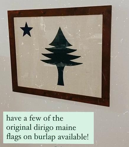 DIRIGO MAINE FLAG