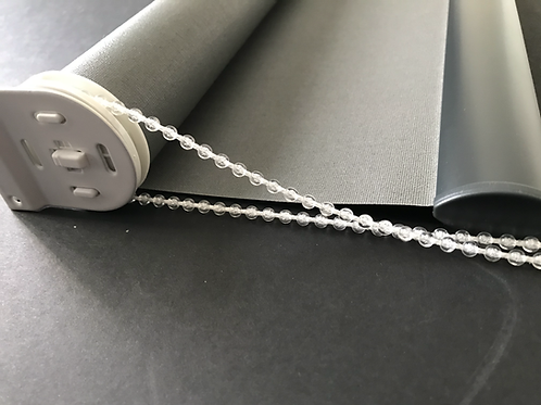ROLLER BLIND STRONG CLEAR BEADED PULL CORD CONTROL CHAIN