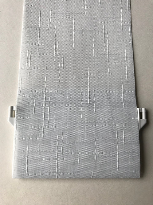 "GREY FLEK  replacement vertical blind slats 89 mm 3.5"" from £0.95 each"