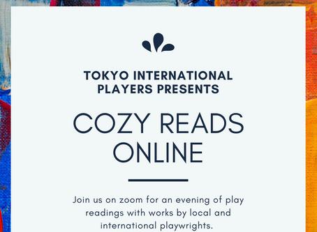 TIP Cozy Reads (Online!)