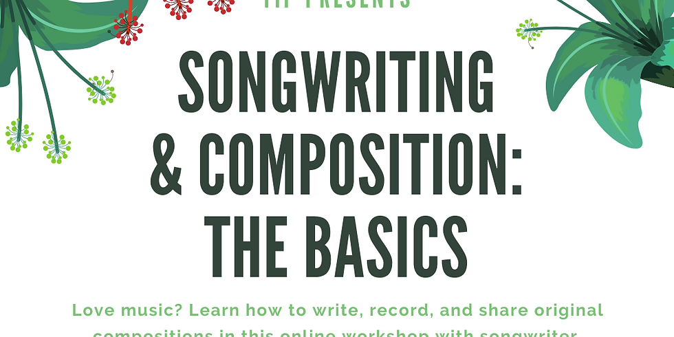 Songwriting & Composition Workshop: The Basics with Kevin McHugh