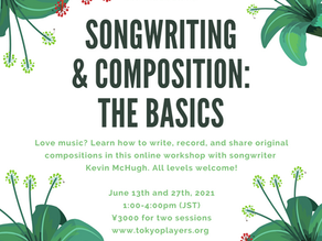 Songwriting & Composition: The Basics with Kevin McHugh