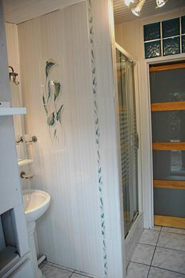salle d'eau du gîte Lotus