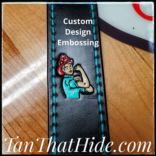 Custom Strap Embossing