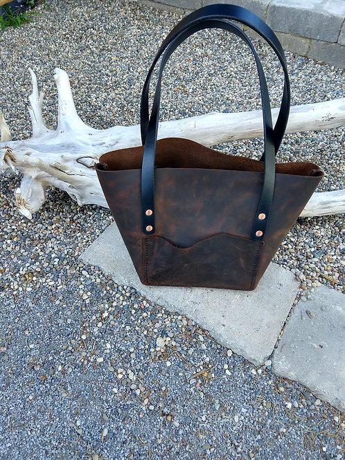 Blackjack Leather Tote bag