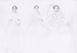 19th century ladies