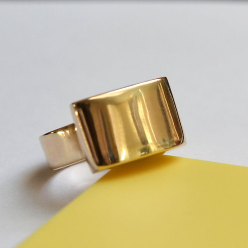 9ct Hollow Gold Ring Commission