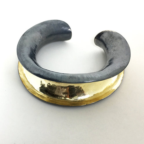 One off Anticlastic Bangle