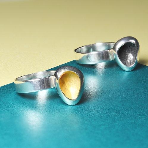 'Hidden Treasure' Handmade Silver Ring