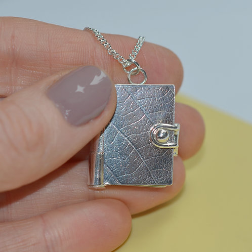 Handmade Four Page Picture Locket