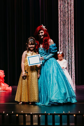Enchanted Princess and winner at the Little Miss Alaska Pageant