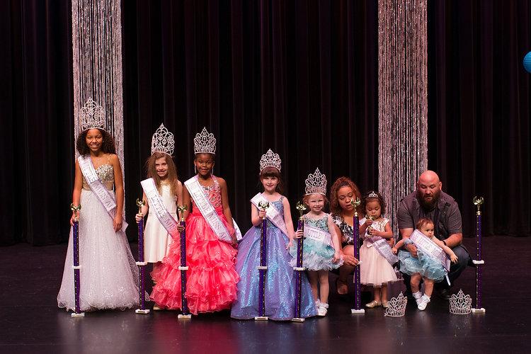 Winners of the Little Miss Alaska Pageant