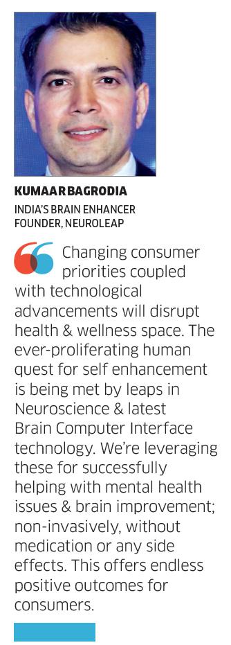 India's Brain Enhancer, Kumaar Bagrodia, NeuroLeap in The Economic Times
