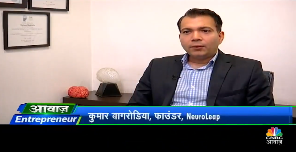 Kumaar Bagrodia, NeuroLeap on CNBC Awaaz