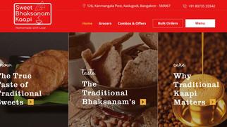 Sweet Bhaksanam Kaapi