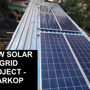 2 KW SOLAR ONGRID PROJECT - CHARKOP