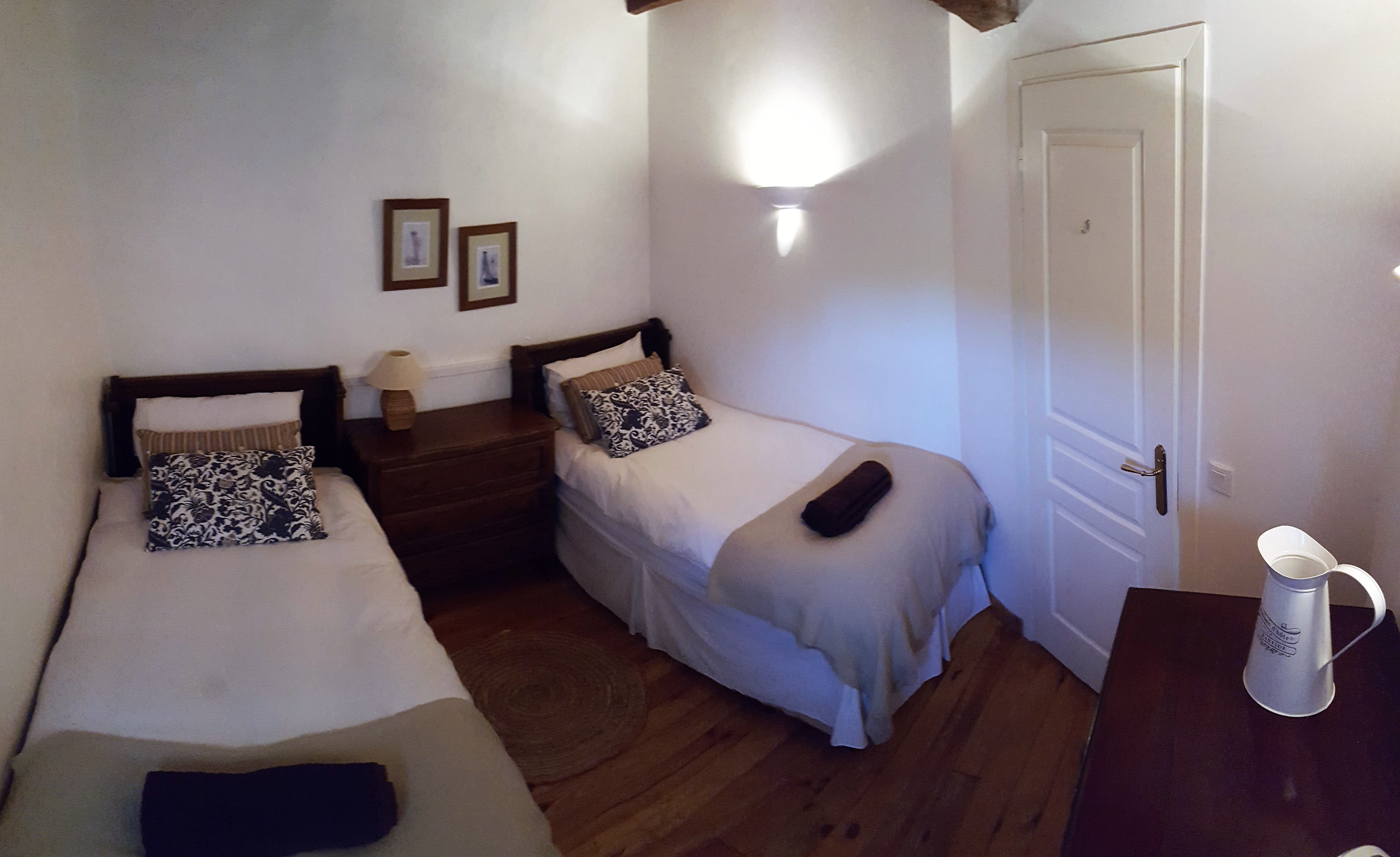 Saint Mont Twin Bedroom