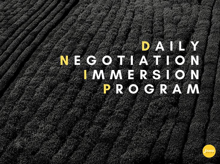 Daily Negotiation Immersion Program (42 Days)