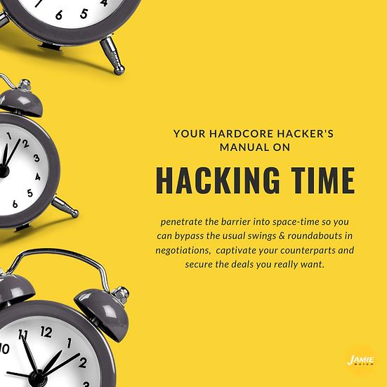 Manual on Hacking Time