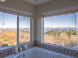 Master bathtub - View