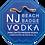 Thumbnail: NJ Beach Badge Vodka Collectible Beach Badge - Quantity of 10 badges