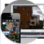 Доступ к камерам с Вашего ноутбука и телефона Везде, где есть интернет