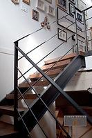 фото лестниц в стиле лофт