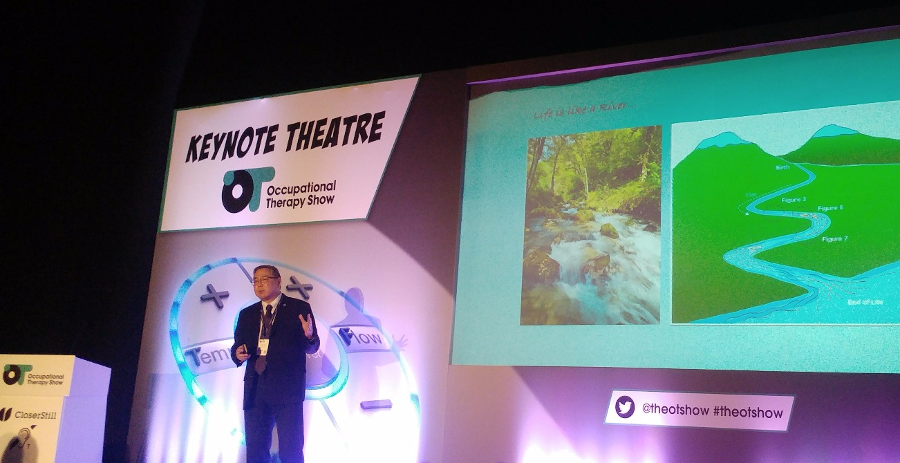 Dr Iwama - Life is like a Kawa river