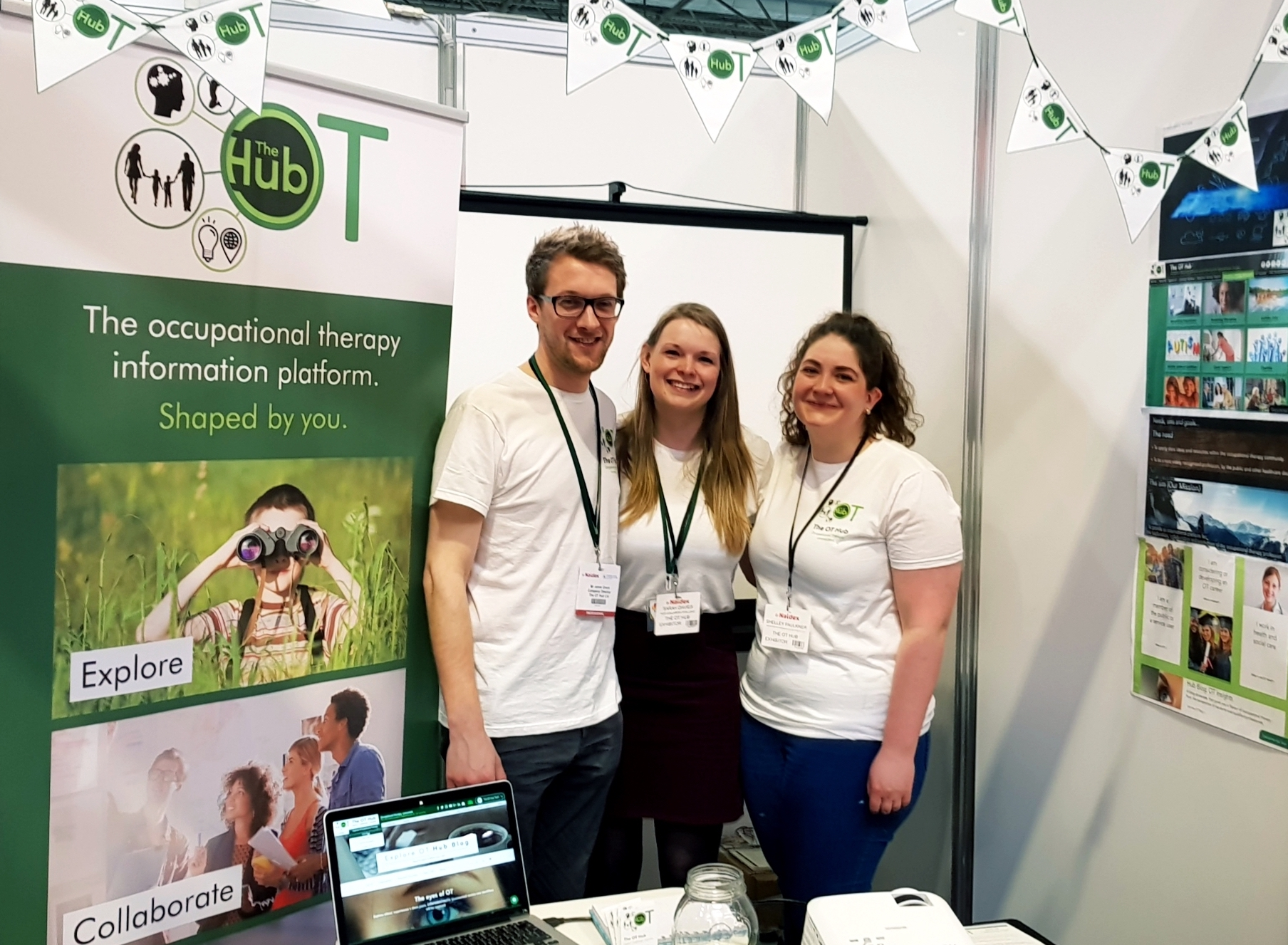 Jamie, Sarah Shelley The OT Hub (Naidex 2018)