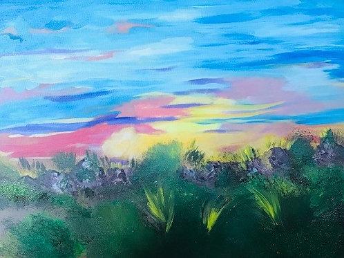 Painted Desert -Giclee Print