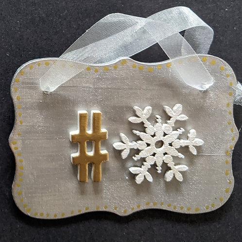 #Snowflake decorations