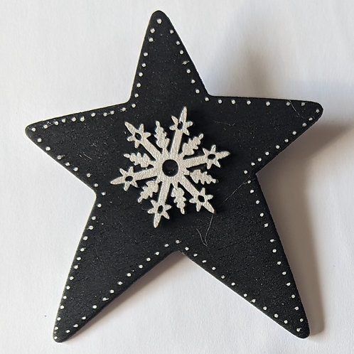 Snowstar Pin