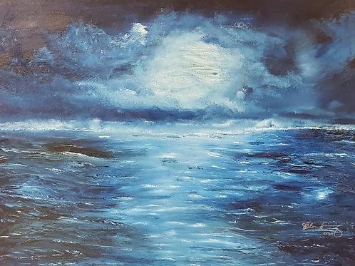 Full Moon Blue