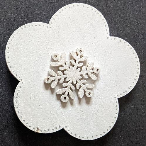 Snowflower Magnet