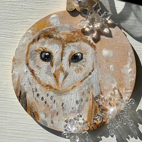 Wood Ornament #1