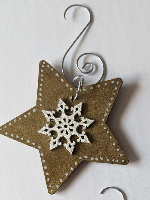 Snowstar Ornament