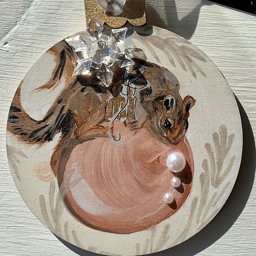 Wood Ornament #5