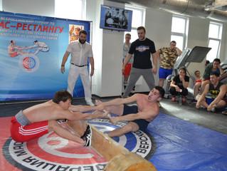 Всероссийский турнир по мас-рестлингу в честь легендарного снайпера саха Ф.М. Охлопкова