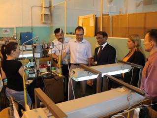 Господин Рамани посетил Якутский промышленный техникум c деловым предложением