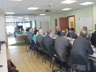 Встреча представителей Университета Арктики (UArctic) в Якутском промышленном техникуме