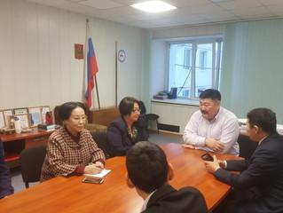 Рабочий визит делегации Намского улуса в Якутский промышленный техникум