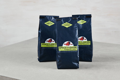 Case of our Space Pigeon Propellant Coffee