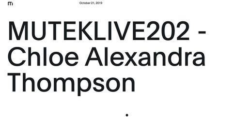 MUTEKLIVE recording release 2020