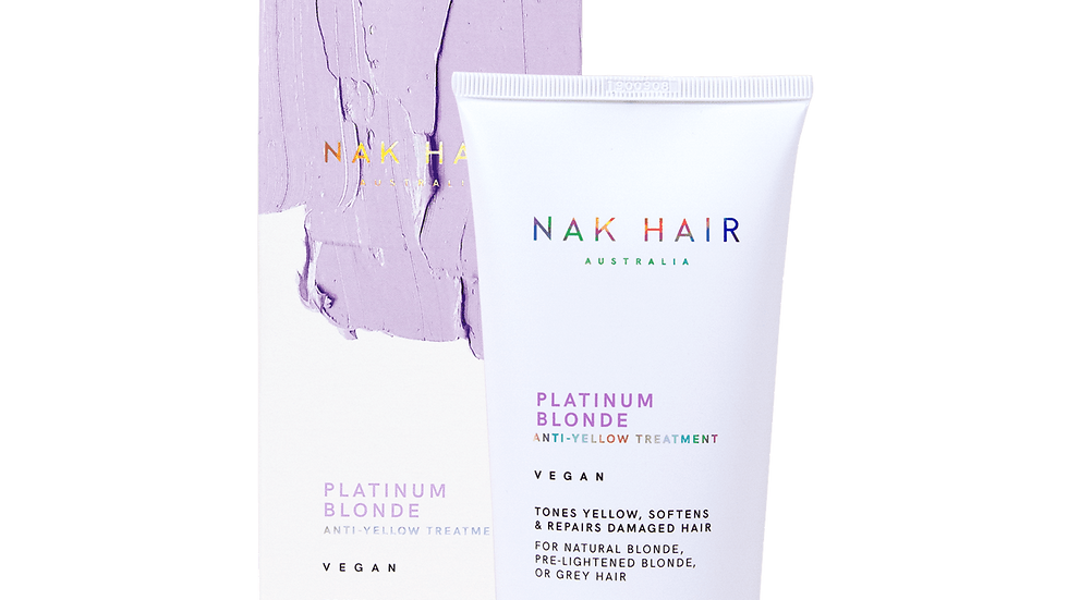 NAK Platinum Blonde Anti-Yellow Treatment 150ml