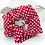 Thumbnail: Hokey Pokey Red Scrunchie