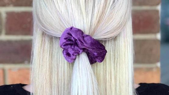 Lavender Scrunchie
