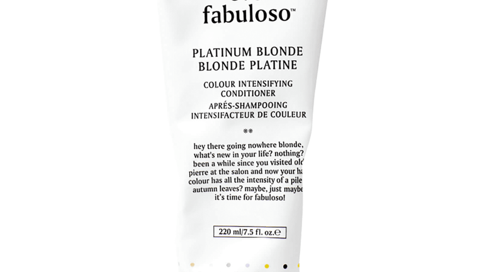 Evo Fabuloso Colour Boosting Treatment - Platinum Blonde 220ml
