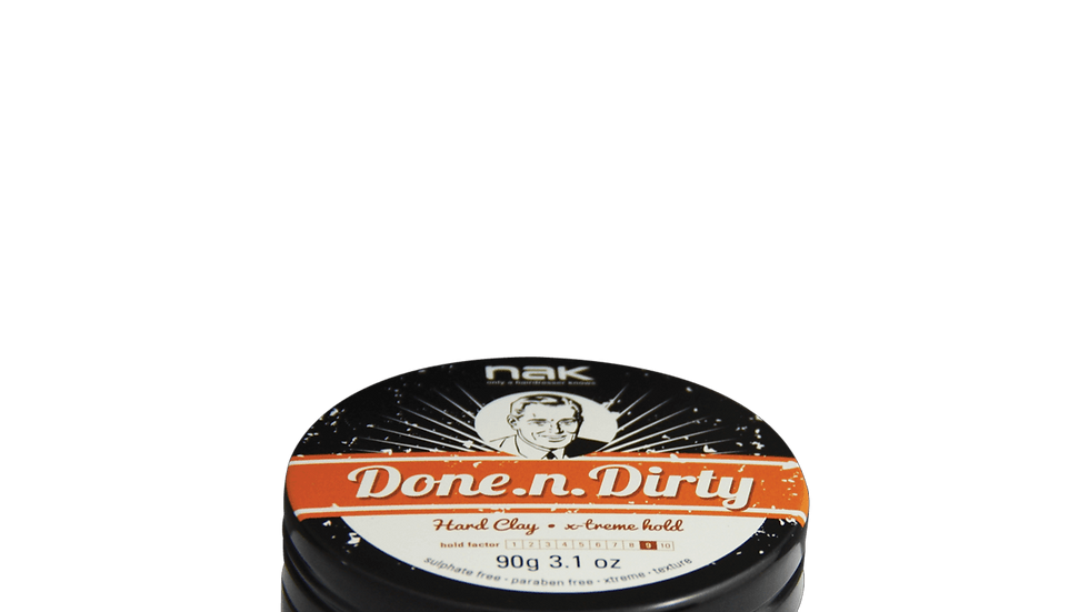 NAK Done.n.Dirty Hair Clay - No Shine 90g