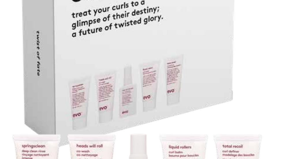 Evo Twist of Fate curl travel pack